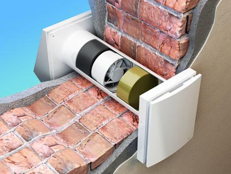 Recuperatori di calore puntuali: rimuovere umidità e muffa con la minima invasività.