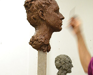 Introduction to Portrait Sculpture at the Art Academy