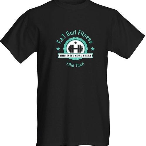 F.a.T  Gurl Fitness Goal Shirt BLACK