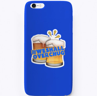#OverChug iPhone Case