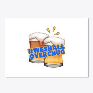 #OverChug Sticker