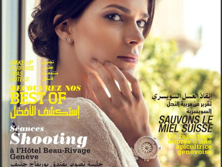 "Editorial shooting for First in Switzerland magazine ""Middle East VIP"""