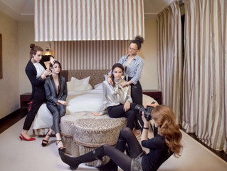 """Editorial shooting for First in Switzerland magazine """"Middle East VIP"""""""