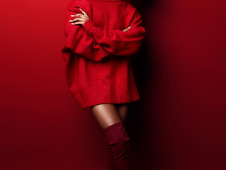 Editorial shooting -Red Passion-