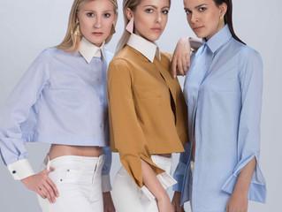 "Shooting ""Capsule en Coton"" Swiss designer shirts par Laura Cavallo"