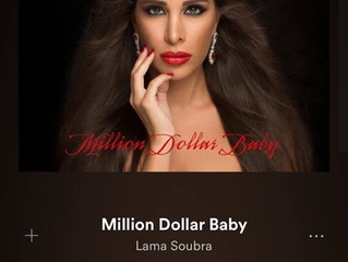 Photo cover for the new single by Lama Soubra