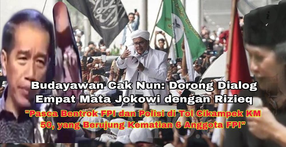Jika dialog antara Jokowi dengan Rizieq Shihab bisa diwujudkan, Cak Nun mengatakan dialog-dialog lainnya bisa disusul antar berbagai kelompok./ Foto: Ilustrasi