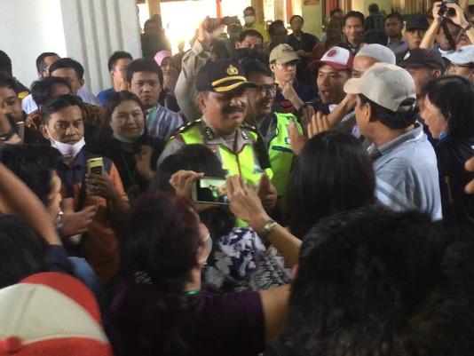 Takut Ricuh Petugas Antisipasi Amankan Sidang Sipoa Terkait 2 Terdakwa Raja Tipu