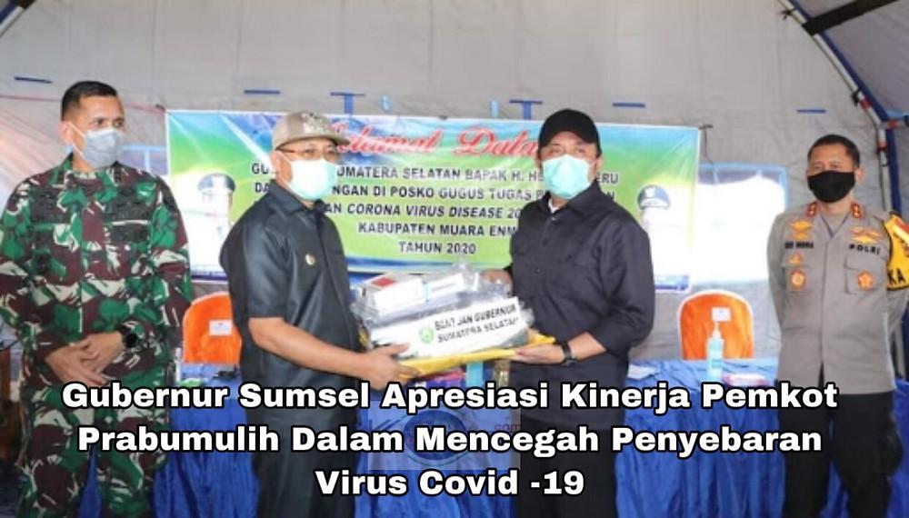 Baca juga: Pemkot  Prabumulih Dapat Bantuan 1000 Unit Alat Rapid Tes dari Gubernur Sumsel