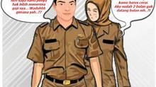 Dikenakan Sanksi Berat untuk PNS Poligami dan Cerai Tanpa Izin Atasan