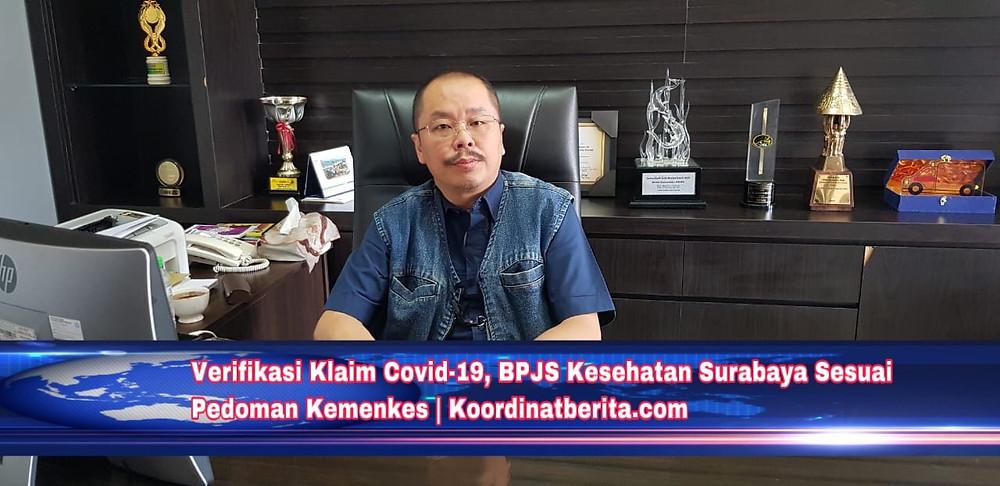 Kepala BPJS Kesehatan Cabang Surabaya Herman Dinata Mihardja. (Ist)