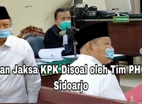Dakwaan Jaksa KPK Disoal oleh Tim PH Bupati Sidoarjo