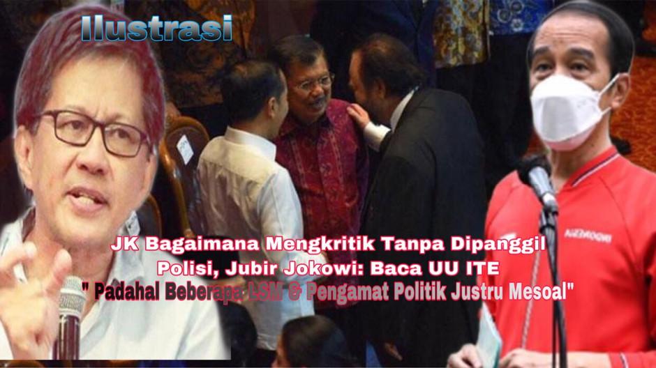 JK Bagaimana Mengkritik Tanpa Dipanggil Polisi, Jubir Jokowi: Baca UU ITE