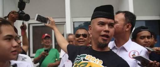 Deklarasi #2019GantiPresiden Gagal, Dhani Lansung Balik Ke Jakarta