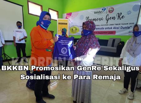 BKKBN Jatim Promosikan GenRe Sekaligus Sosialisasi ke Para Remaja
