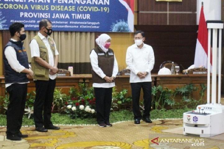 Ketua Gugus Tugas Percepatan dan Penanganan Covid-19 Jawa Timur Khofifah Indar Parawansa