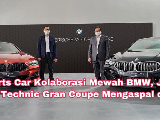 Sports Car Kolaborasi Mewah BMW, Jenis 840i M Technic Gran Coupe Mengaspal di Jatim
