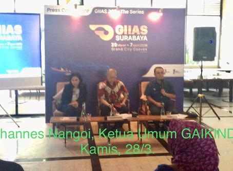 Surabaya Tuan Rumah Perhelatan AkbarGIIAS The Series 2019