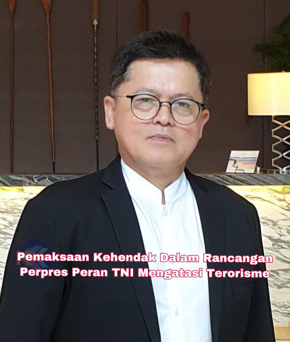 Rafendi Djamin, Komisioner/Wakil Pemerintah Indonesia di Komisi HAM antar pemerintah ASEAN (AICHR) 2009-2015. (Ist)