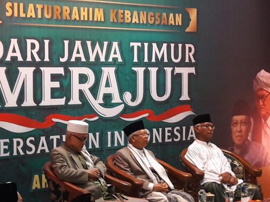 Silaturahmi Kebangsaan, Bersama Prof Dr KH Ma'ruf Amin