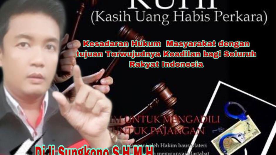 Kesadaran Hukum  Masyarakat dengan tujuan Terwujudnya Keadilan bagi Seluruh Rakyat Indonesia