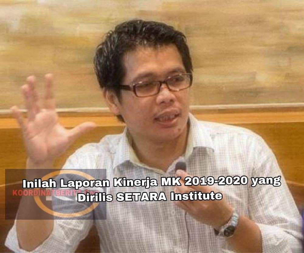 Direktur Eksekutif SETARA Institute, Ismail Hasani. (Ist)