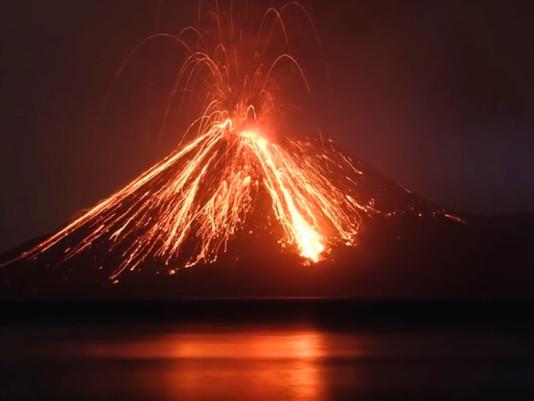 Dihimbau Masyarakat Waspada, 44 letusan Anak Gunung Krakatau
