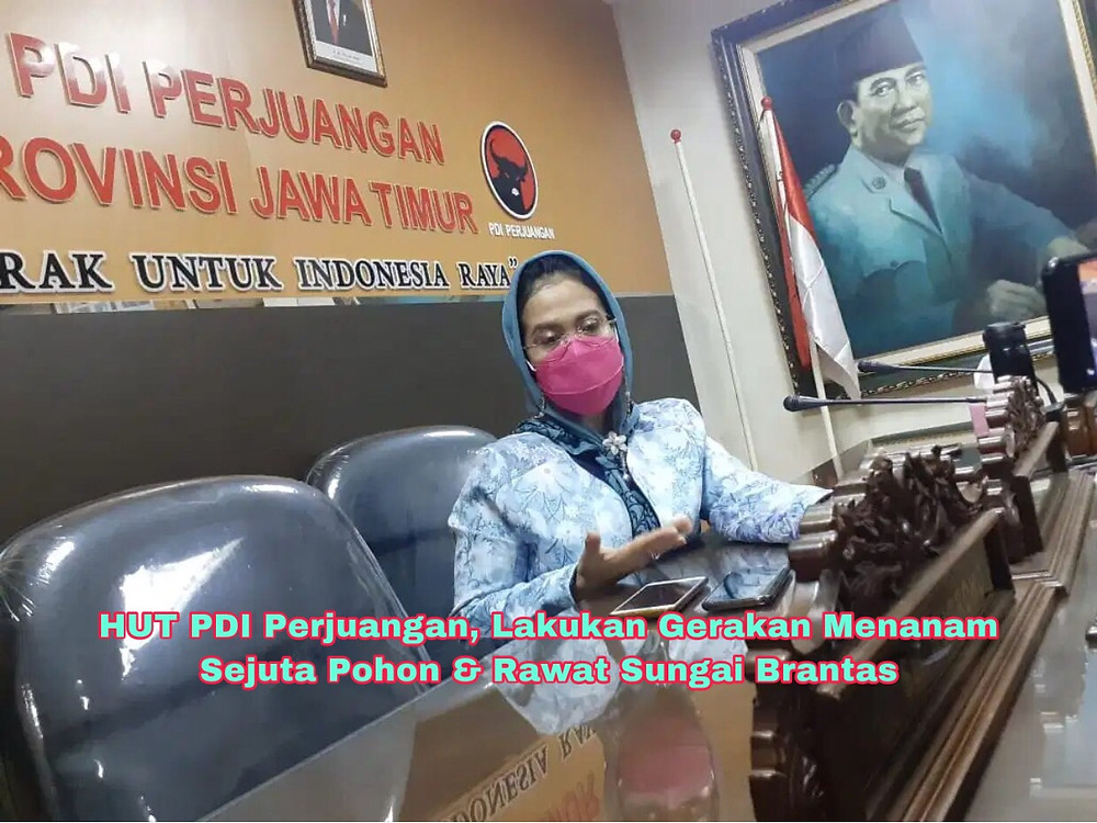 Sekretaris DPD PDI Perjuangan Jawa Timur, Sri Untari. (Foto: Adm)
