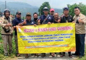 Organisasi Jurnalis Hukum Giat Raker di Pacet Mojokerto