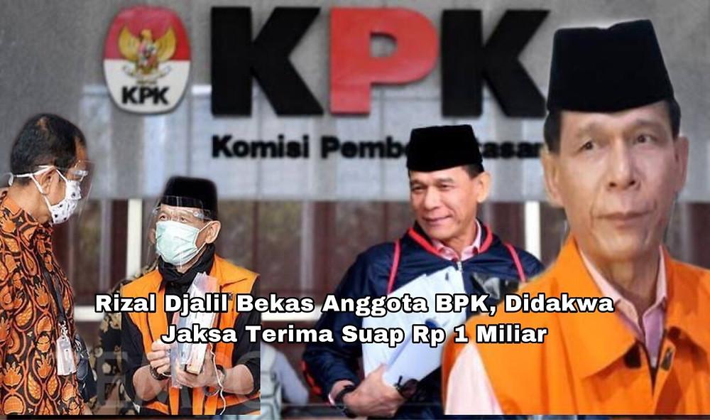 Jaksa KPK mendakwa, suap itu diberikan karena Rizal Djalil membantu Komisaris Utama PT Minarta Dutahutama Leonardo Jusminarta mendapatkan proyek (Ilustrasi)