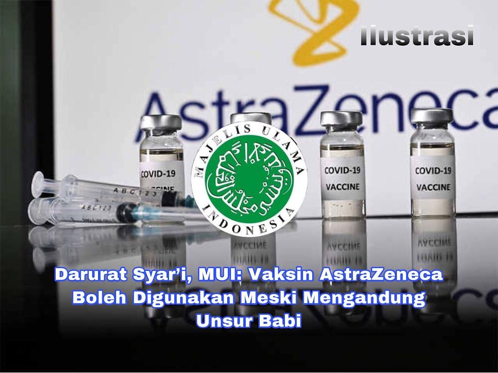 MUI telah mengundang Kementerian Kesehatan, Badan Pengawas Obat dan Makanan (BPOM), produsen AstraZeneca, hingga Bio Farma untuk mendapat masukan.