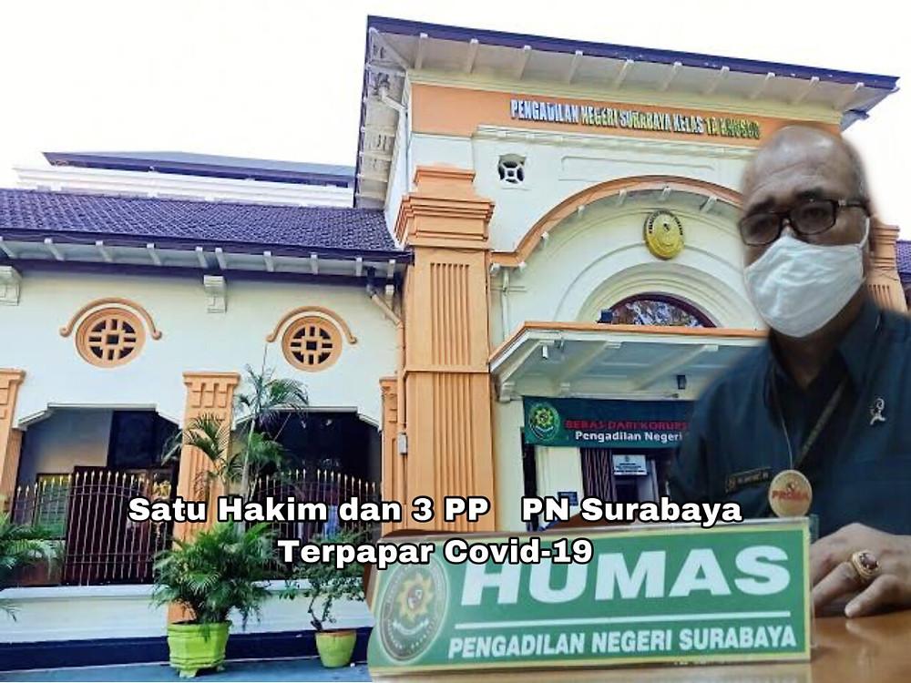 Martin Ginting selaku Kepala Humas Pengadilan Negeri (PN) Surabaya. ( Foto/ Ilustrasi)