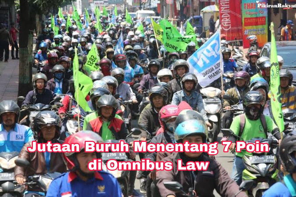 KSPI menyampaikan tujuh alasan yang menjadi alasan mereka akan mengadakan mogok nasional sebagai aksi protes Omnibus Law