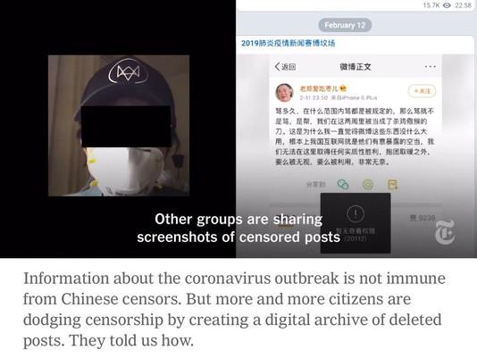 Saat China Meretas Cakupan Coronavirus, Jurnalis Melawan