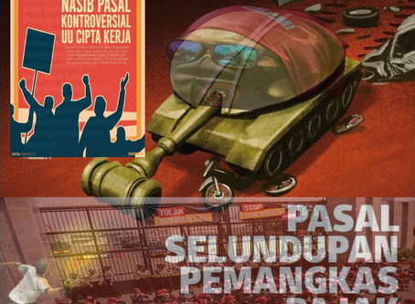 Pasal Selundupan Pemangkas Pajak & Nasib Pasal Kontroversial UU Cipta Kerja