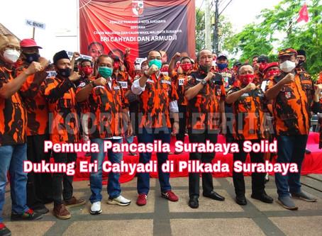 Pemuda Pancasila Surabaya Solid Dukung Eri Cahyadi di Pilkada Surabaya