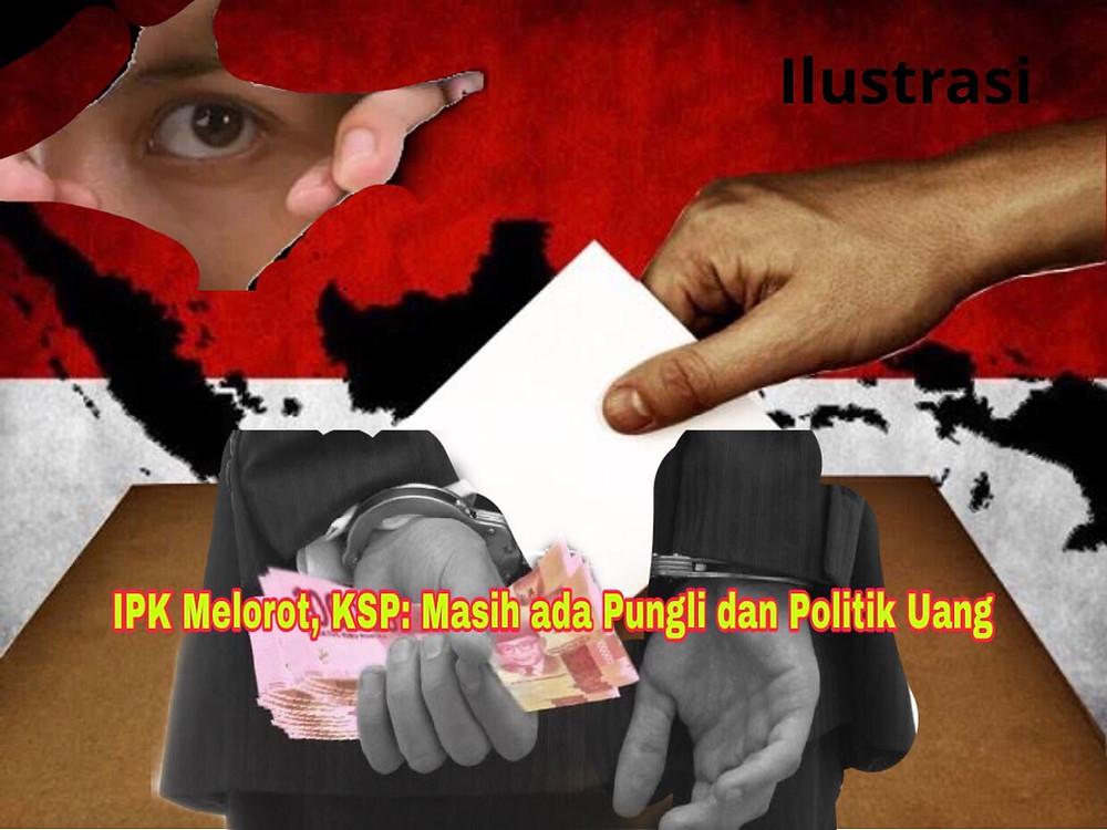 KSP mengatakan Indeks Persepsi Korupsi penting bagi pemerintah sebagai evaluasi kebijakan pemberantasan korupsi.(Ilustrasi)