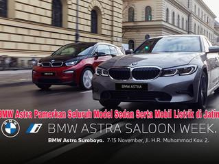 BMW Astra Pamerkan Seluruh Model Sedan Serta Mobil Listrik di Jatim