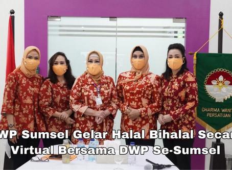 DWP Se-Sumsel Gelar Halal Bihalal Secara Virtual Melalui Aplikasi Zoom