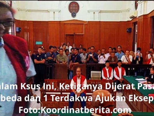 Jalani Sidang Perdana, 3 Terdakwa Atas Kasus Insiden Asrama Mahasiswa Papua Didakwa Pasal Berbeda