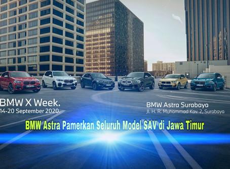 BMW X Astra Pamerkan Seluruh Model SAV