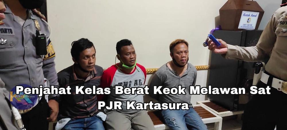 Dirlantas Polda Jateng bangga, 3 gembong penjahat lintas Provinsi  mati kutu Ditangan Sat PJR. (Ist)