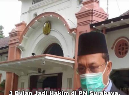 3 Bulan Jadi Hakim di PN Surabaya, Kini Susul Istrinya Meninggal Dunia Akibat Covid-19