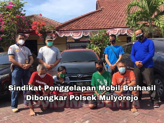 Sindikat Penggelapan Mobil Berhasil Dibongkar Polsek Mulyorejo
