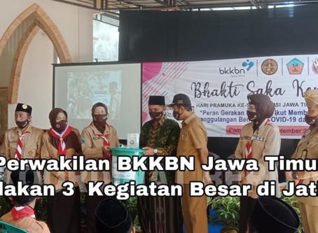 Perwakilan BKKBN Jawa Timur Adakan 3  Kegiatan Besar di Jatim