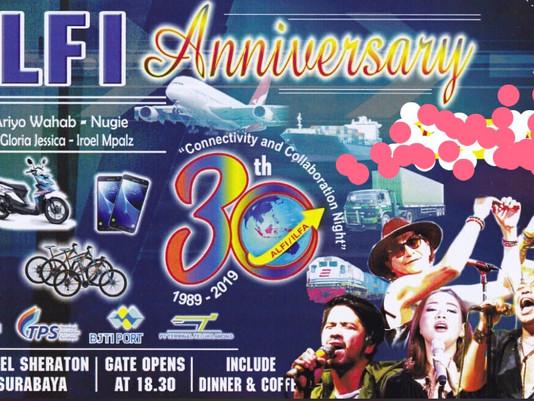 ALFI Anniversary 30 Tahun 'Connectivity and Collaboralation Night' Sheraton Hotel