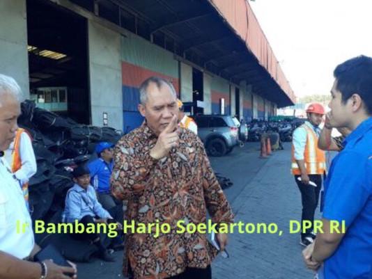 Bambang H Anggota Komisi V DPR RI: Tegur Pejabat Hubla, Terkait Muatan Kapal Tidak Terkontrol