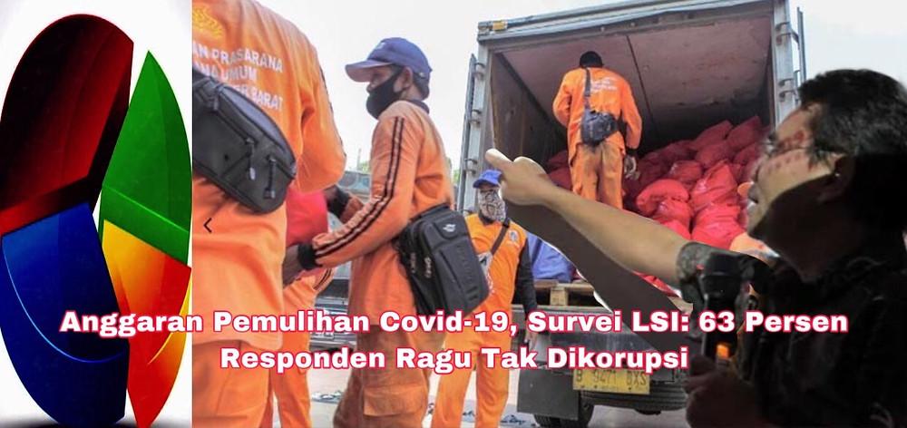 Djayadi mengatakan hasil survei LSI terkait penggunaan anggaran pemulihan Covid-19 patut diperhatikan oleh pemerintah.( Ilustrasi)
