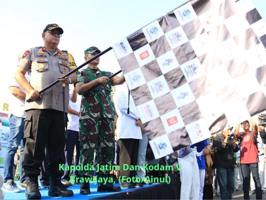 BUMN Mudik Bareng, Kapolda Jatim: Lepas 2500 Pemudik Tujuan Jatim, Jateng,Yogyakarta Dan Jabar