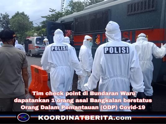 Satu Orang Ditemukan Berstatus ODP di Pintu Masuk Waru, Surabaya